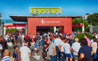 In oltre 24mila al Ferrari Family Day