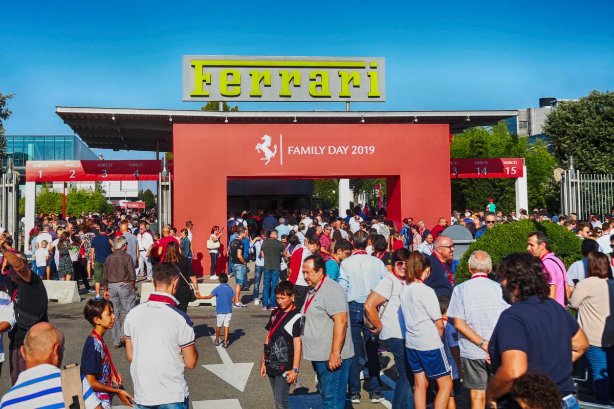 In oltre 24mila al Ferrari Family Day