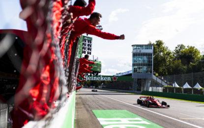 Una domenica da sogno per la Ferrari e i tifosi