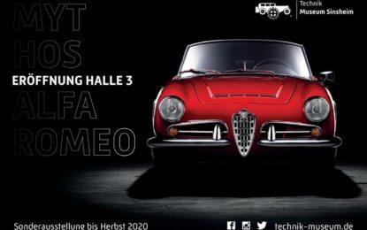 """Il Museo della Tecnica di Sinsheim presenta """"Mito Alfa Romeo"""""""
