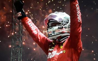 Vettel-Leclerc: doppietta a Singapore. Terzo Verstappen. Stelle opache