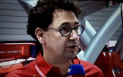 """Binotto: """"E' davvero una vittoria di tutta la squadra"""""""