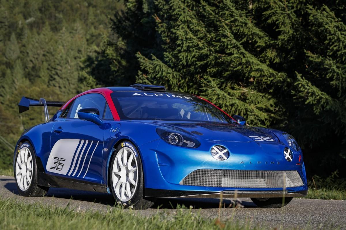 Alpine A110 Rally pronta a entrare in scena