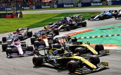 Doppio arrivo nella top 5 per il team Renault a Monza