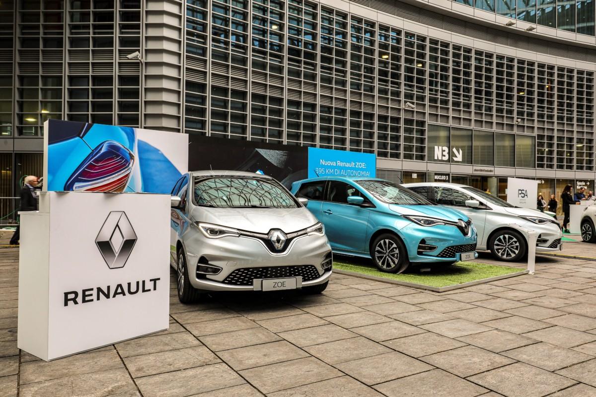 Nuova Renault ZOE protagonista della terza edizione di e_mob