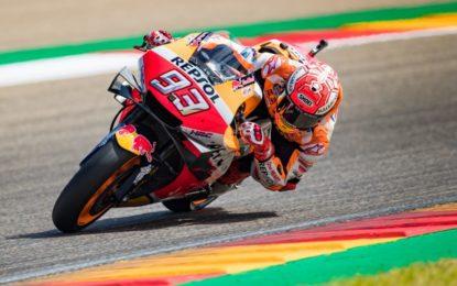 Ad Aragon nona pole di Marquez. Ma occhio alle Yamaha…