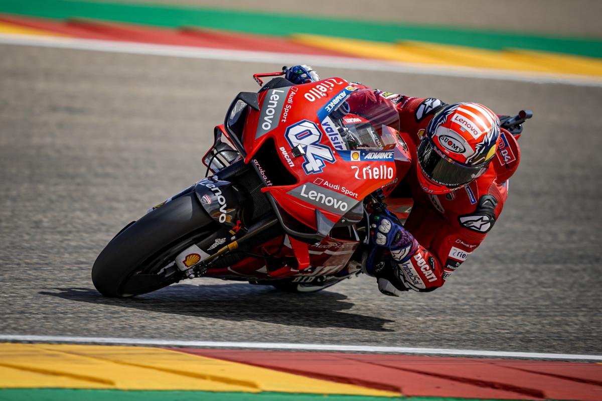 L'impegno degli impianti frenanti al GP di Aragon 2019
