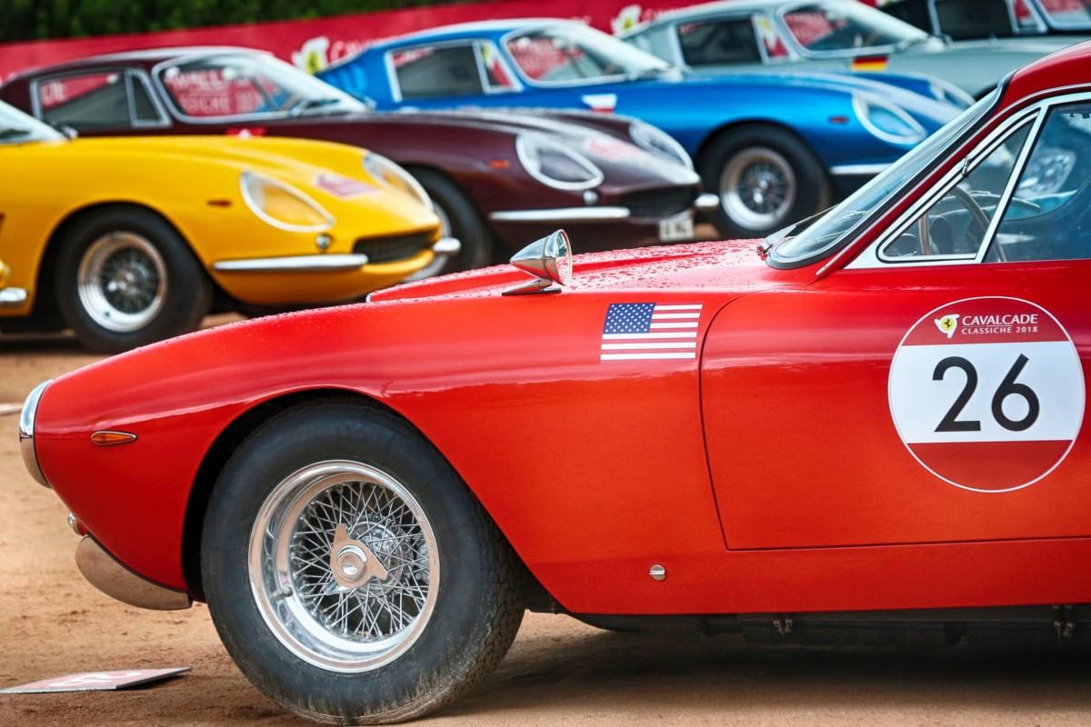 Ferrari Cavalcade Classiche nel weekend a Roma