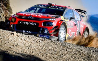 Rally di Turchia: le C3 WRC in testa al termine del sabato