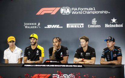 Ricciardo sorpreso della conferma di Grosjean