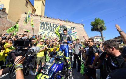 Valentino Rossi: il presente, il futuro, i colleghi e… Leclerc!