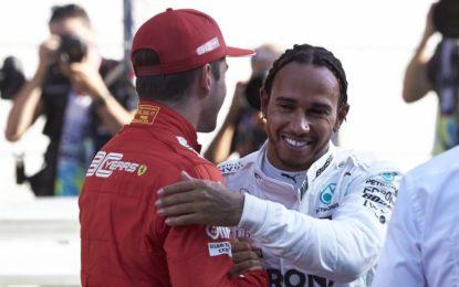 """Hamilton: """"La Ferrari è in modalità jet. Ma cercherò di rendere la vita difficile…"""""""