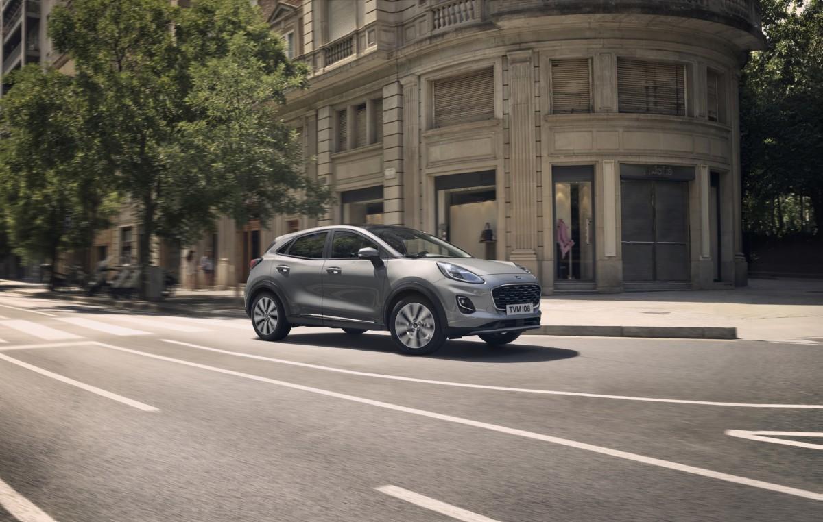 Ford svela la nuova Puma Titanium X