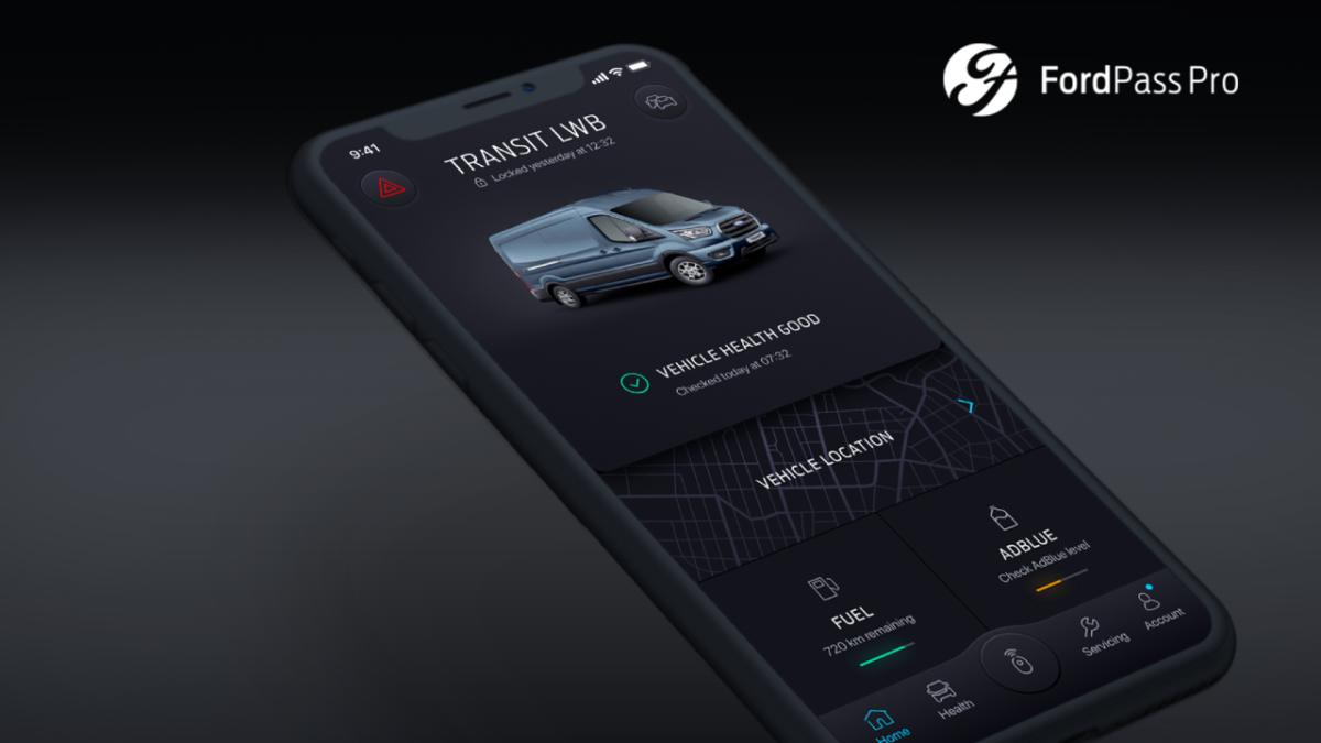 Nuova app FordPass Pro per clienti business delle piccole imprese
