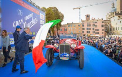 Gran Premio Nuvolari: partita la 29° edizione