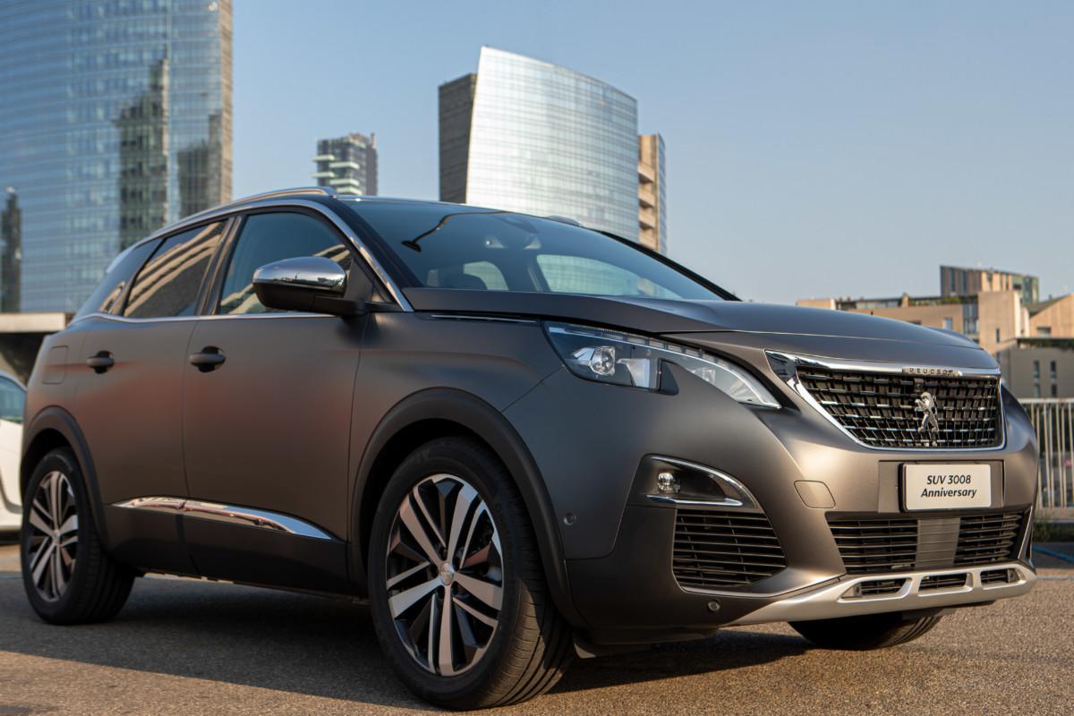 Peugeot 3008 Anniversary: edizione limitata a 120 esemplari