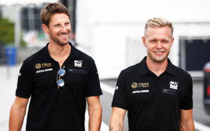 Haas F1 Team conferma Grosjean e Magnussen nel 2020