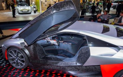 Alcantara veste BMW M Vision Next