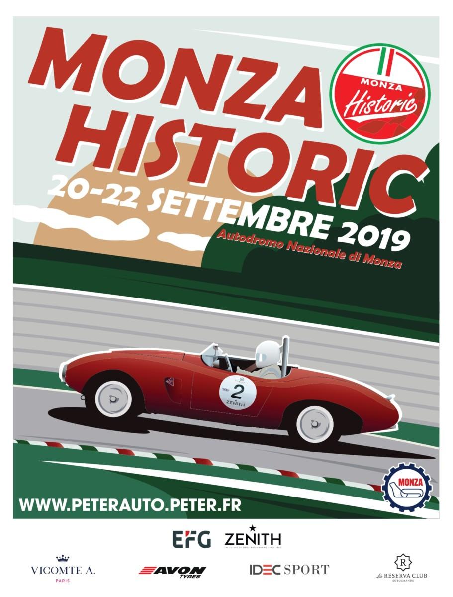 Monza Historic |  300 auto storiche in pista nel weekend