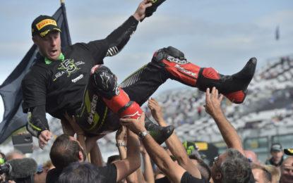 WSBK: a Magny-Cours Rea campione per il 5° anno consecutivo