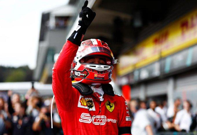 Belgio: un Leclerc perfetto e maturo conquista la prima vittoria in F1