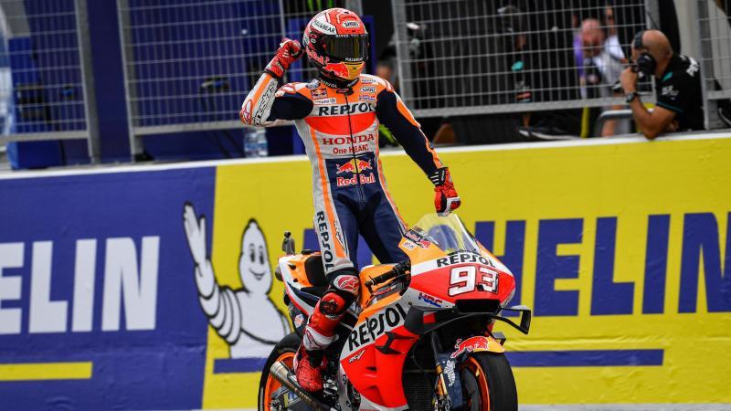 Marquez: in Thailandia potrebbe già arrivare il Titolo
