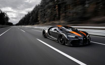 Michelin e Bugatti: 5300G e nuovo record di velocità