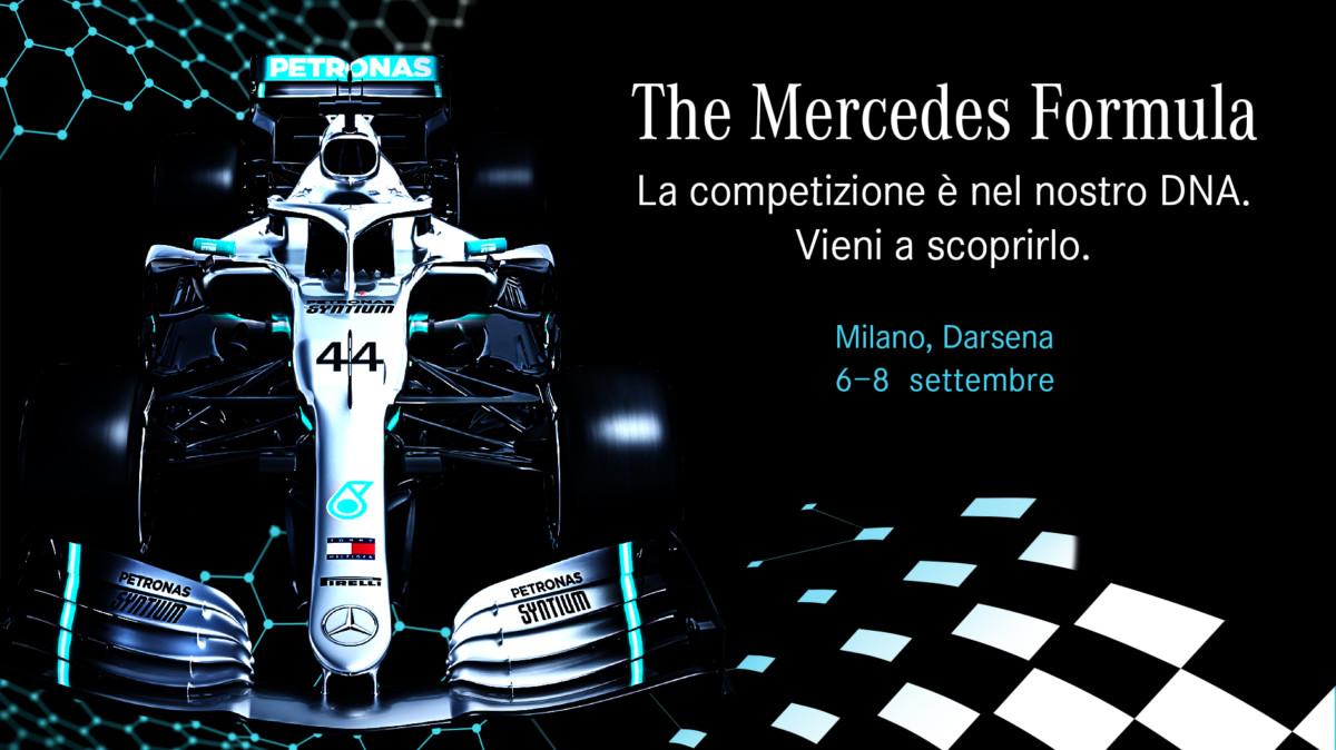 """Alla Darsena """"The Mercedes Formula"""""""