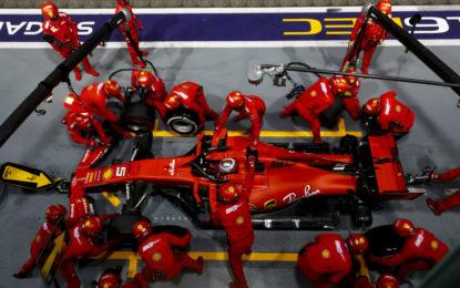 A Singapore strategia determinante per la vittoria di Vettel