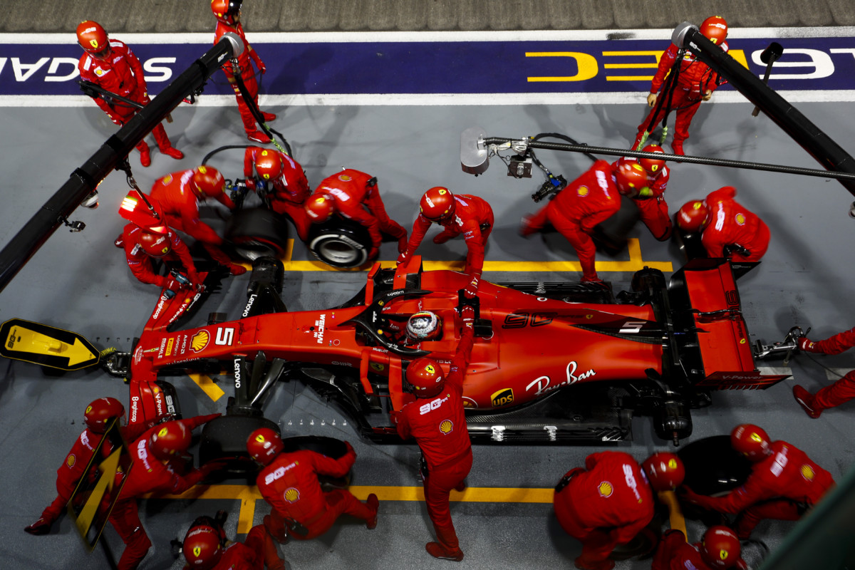 A Singapore strategia determinante per la vittoria di Vettel