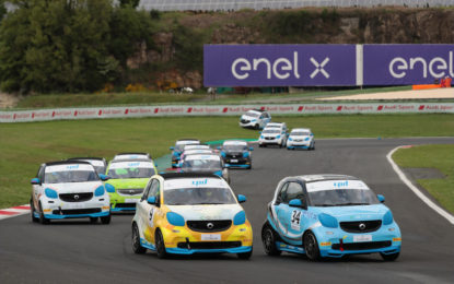 La smart e-cup torna in pista a Vallelunga