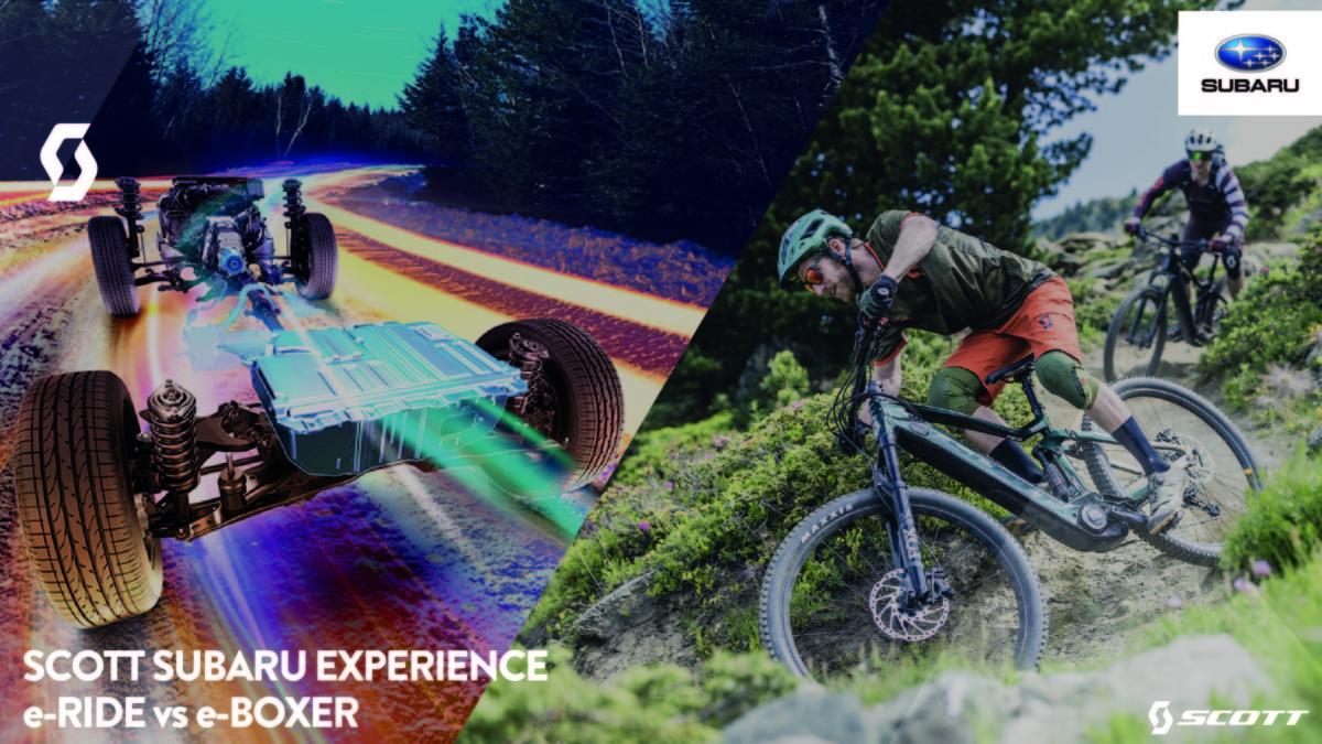 SCOTT e Subaru Experience il 12 ottobre ad Affi