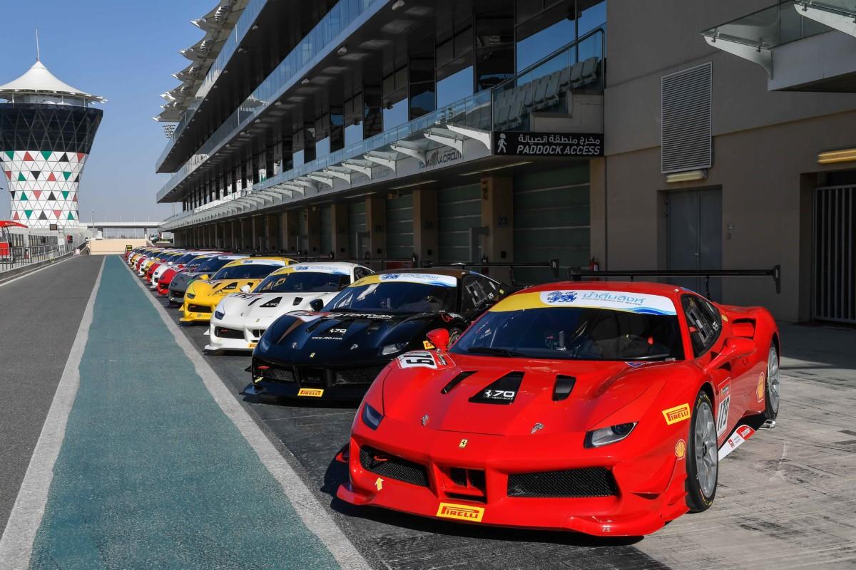 Finali Mondiali Ferrari 2020 ad Abu Dhabi