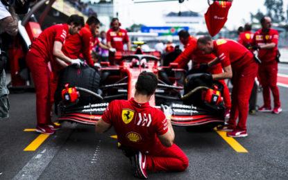 Ferrari alla vigilia del GP degli USA