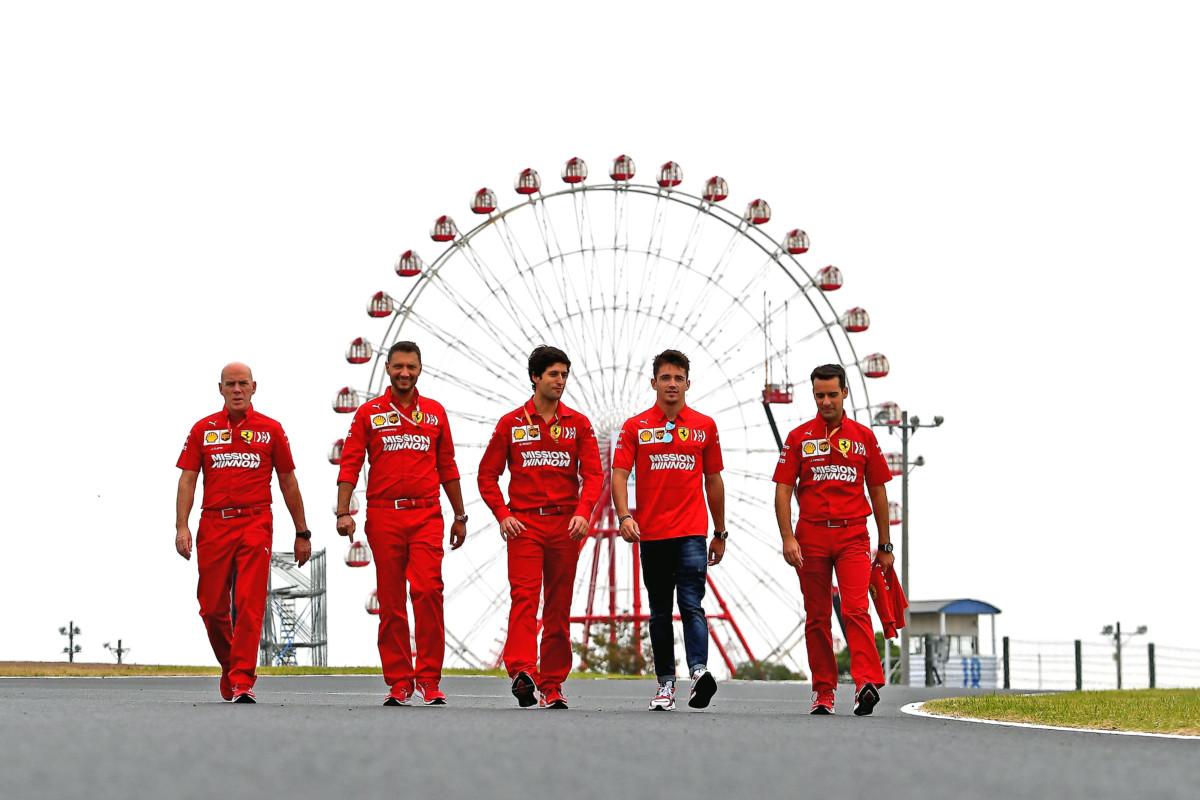 Ferraristi pronti per il Giappone. E non preoccupati del tifone