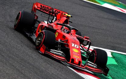 Ferrari: venerdì di gran lavoro a Suzuka per battere il tifone!