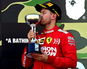 Il podio di Vettel salva la gara della Ferrari in Giappone