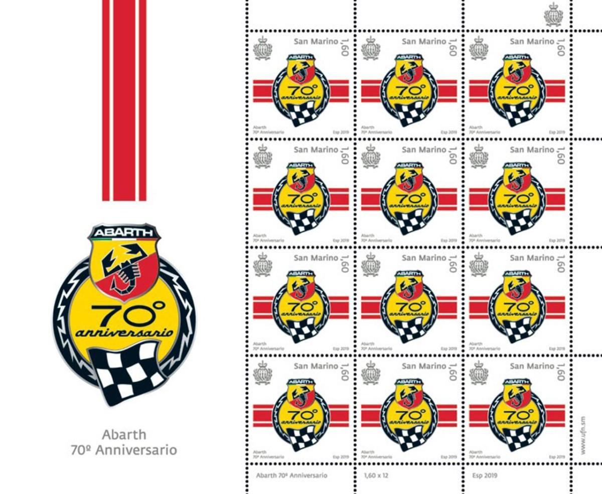 Abarth: un francobollo per i 70 anni