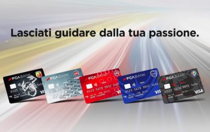 FCA Bank presenta le nuove carte di credito dei brand FCA