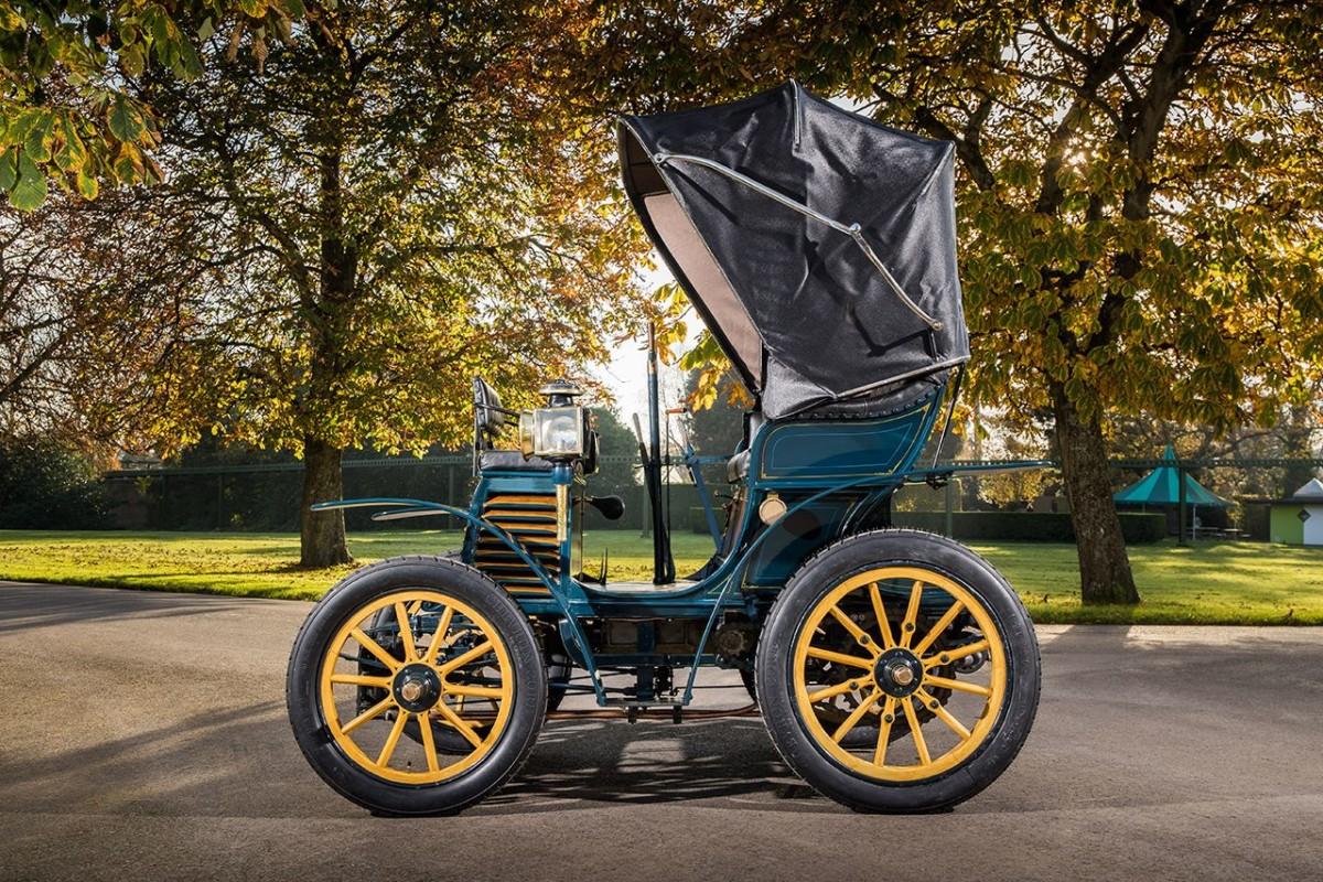 """La Fiat 3½ hp del 1899 alla """"London to Brighton Veteran Car Run"""""""