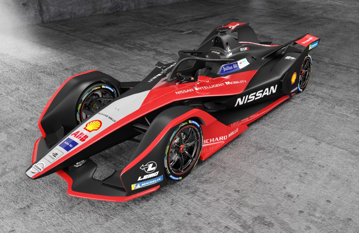 Formula E: la nuova livrea Nissan come un kimono