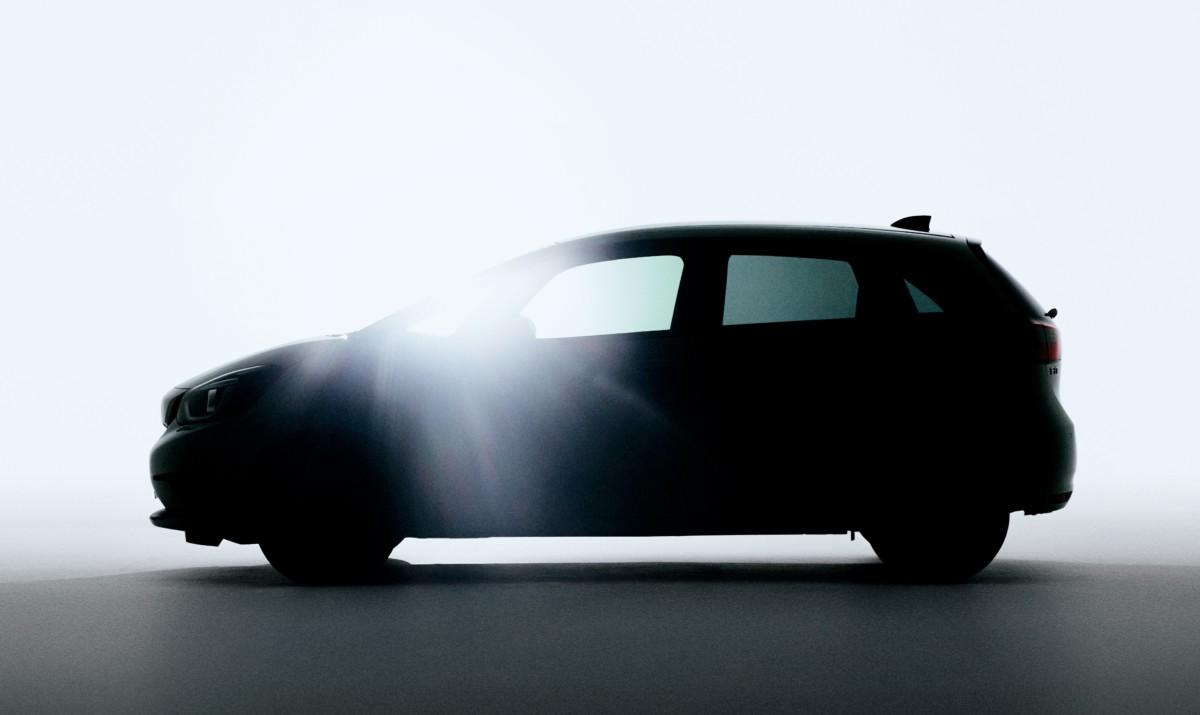 Prima immagine della nuova Honda Jazz