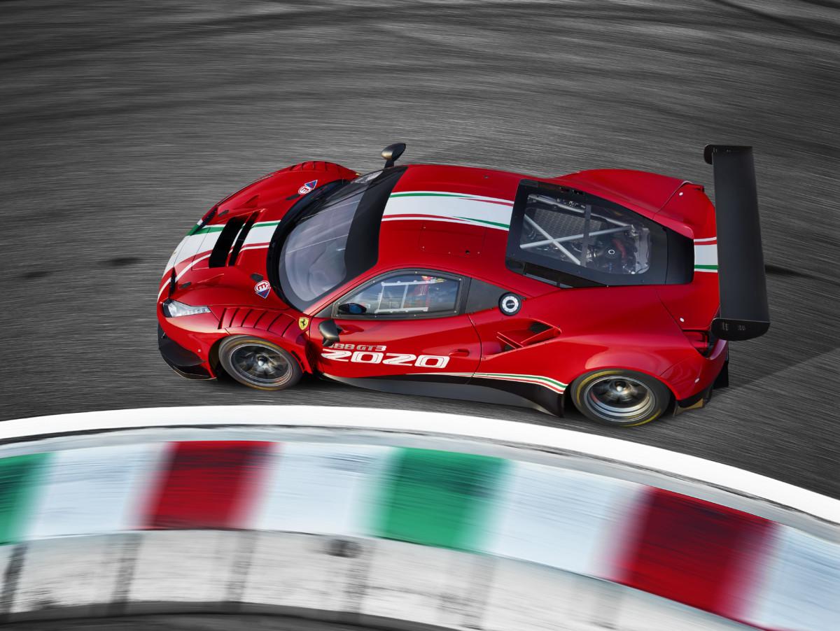 Presentata al Mugello la Ferrari 488 GT3 EVO 2020