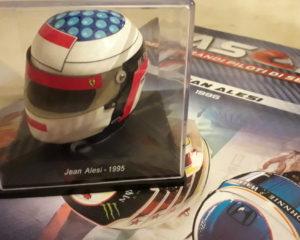 Il casco di Jean Alesi, nel ricordo di Elio de Angelis