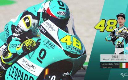 Moto3: l'Italia torna sul tetto del mondo con Dalla Porta