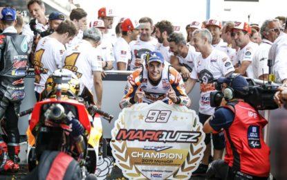 Marquez: giustamente molto felice