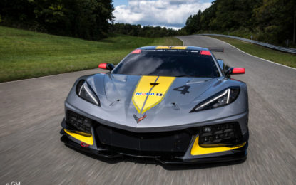 Corvette C8R: bella senz'anima