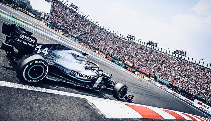 Messico: bella gara e bel podio con Hamilton, Vettel e Bottas