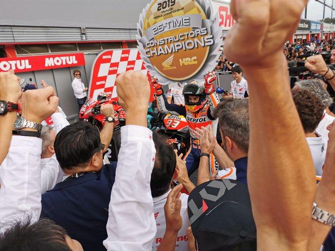 Giappone: Marquez, Quartararo, Dovizioso. E Honda campione