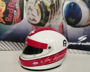 Il casco di Regazzoni in edicola: una rarità da collezione